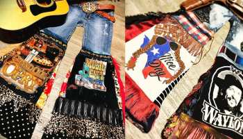 bells bell bottoms cheveaux beauty hippie style western fashion cowgirl magazine
