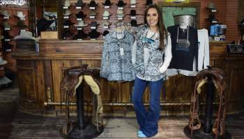 Dylan true grit vest pull over pullover hoodie frosted tip frosty tip cowgirl magazine