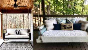 bed swing bed swings cowgirl magazine