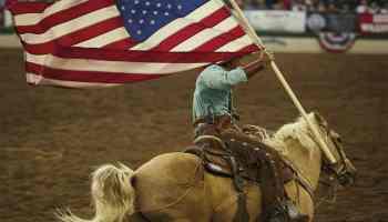 reno rodeo cowboy riding horse cowgirl magazine