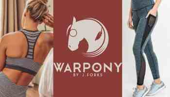 warpony war pony athleticwear athletic wear athleisure work out clothes j forks j.forks Jenny Forks cowgirl magazine