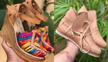 la perla Mexican huaraches cowgirl magazine footwear shoes sandal sandals
