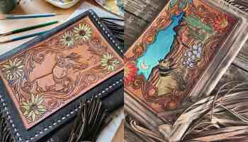 magpie west leather co. cowgirl magazine