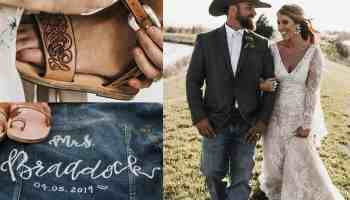wedding day details cowgirl magazine bride bridal weddings