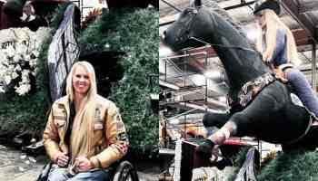 amberley snyder rodeo new york float cowgirl magazine