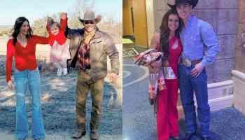 Valentine's Day posts cowgirl magazine