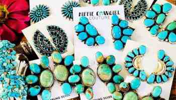 turquoise earrings cowgirl magazine