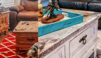 poured paint granite marble twisted treasures cowgirl magazine