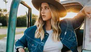 wrangler denim jacket cowgirl magazine