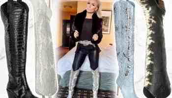 Gianni Bini western boot cowgirl magazine