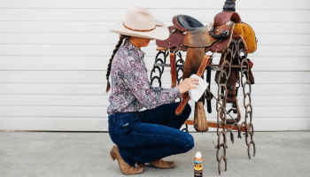 tack cleaning cowgirl magazine