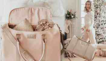 official hollis lux weekender bag cowgirl magazine travel