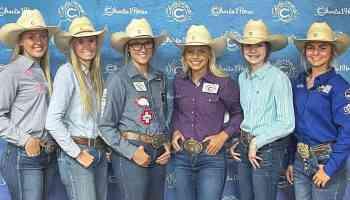 Charlies NHSRA Angels cowgirl magazine