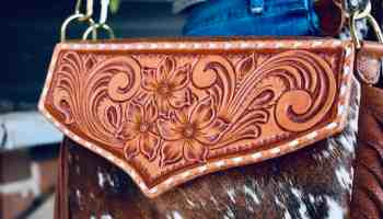 teal ranch leather cowgirl magazine