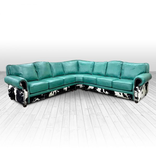 kennedy turquoise sectional