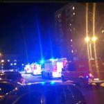 Os. Wysokie-działania straży pożarnej. Mieszkańcy musieli uszczelniać drzwi do mieszkań