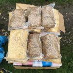 Krakowscy kryminalni przejęli ponad 18 000 sztuk papierosów oraz 8 kg krajanki tytoniowej