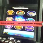 Policjanci zatrzymali 32-latka i zlikwidowali w trzech lokalach nielegalne maszyny do gier hazardowych