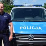 Policjant po służbie uratował nad zalewem w Kryspinowie tonącego mężczyznę