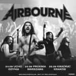 Airbourne w Polsce! Zapraszamy na trzy koncerty Australijczyków: w Gdyni, Warszawie i Krakowie