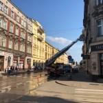 Wstrzymany ruch tramwajowy na ul. Starowiślnej