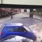 Ku przestrodze! Jest nagranie z dzisiejszego porannego wypadku, gdzie przewróciła się cysterna