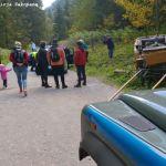 Pijany woźnica w Dolinie Kościeliskiej przewrócił dorożkę z turystami