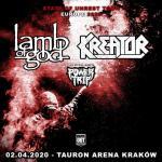 Lamb Of God i Kreator na jednym koncercie w Polsce