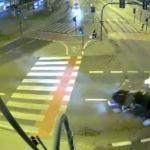 Śmiertelny wypadek w Krakowie. Mamy nagranie