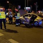 Groźny wypadek w Krakowie. Udział brał nieoznakowany radiowóz