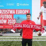 Robert Lewandowski ambasadorem ME w Amp Futbolu. Wydarzenie odbędzie się w Krakowie!
