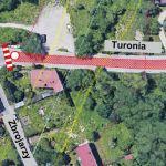 Od czwartku fragment ul. Turonia będzie zamknięty