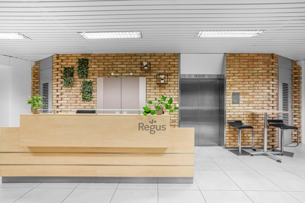 coworking space on regus ljubljana