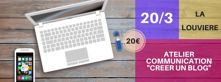 Atelier Communication : Créer un blog/site avec WordPress