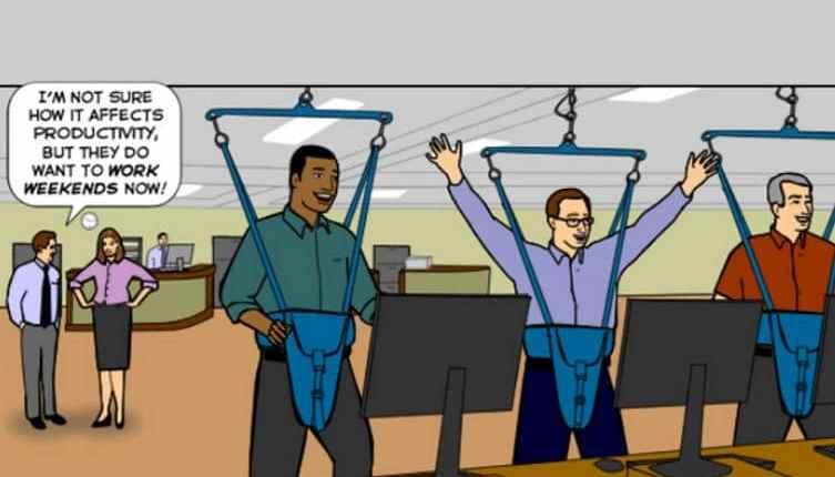 Como encontrar um equilíbrio entre atividade e produtividade em um espaço de coworking