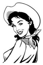 A Pretty Cowgirl (Image)