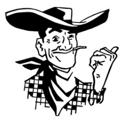 Legendary Las Vegas Cowpoke (Cartoon)