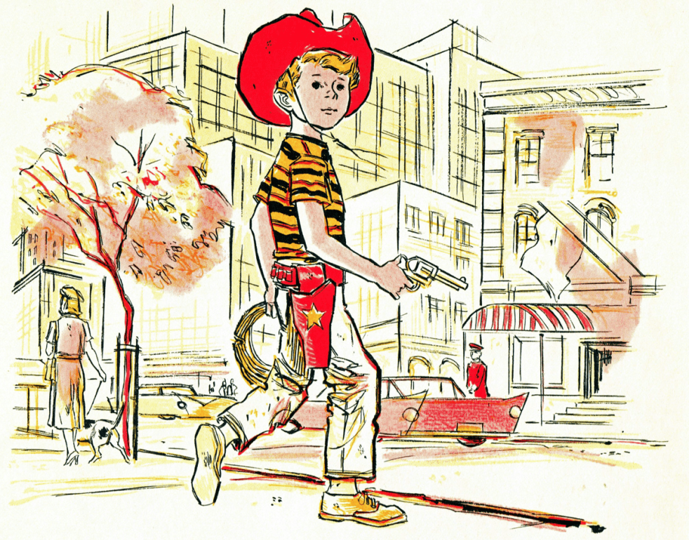 Cowboy Andy (Book Art)