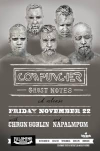Ghost Notes Calgary CD Release w/ Chron Goblin and Napalpom - Nov22 2013 - Palomino