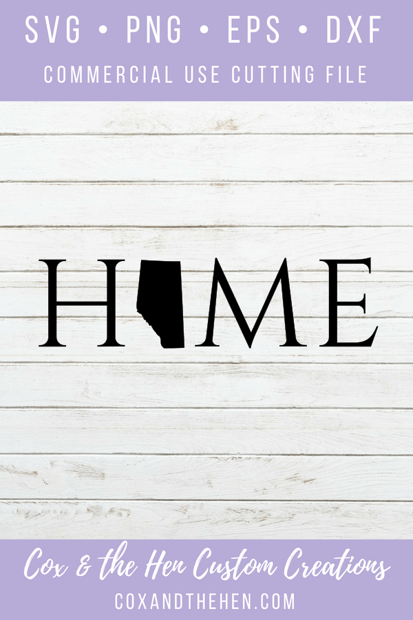 Home Alberta Svg - Alberta Svg - Home Wood Sign - Alberta - Home Svg - Cricut - Cameo - Cutting File - Png Svg Dxf Eps - Commercial Use - coxandthehen