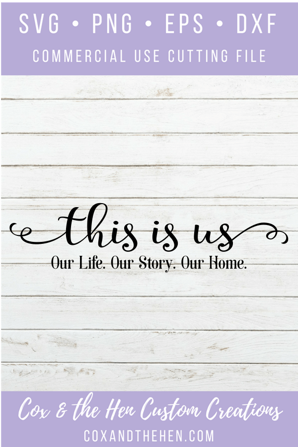 Download This Is Us - Wood Sign SVG - Wood Sign Stencil