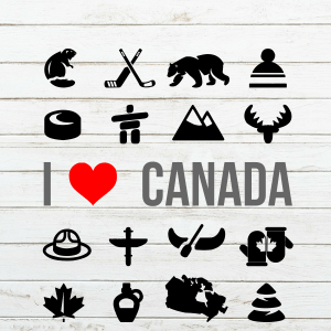 I Love Canada Because - Happy Canada Day – Canada day 2018 – Canada Day Shirt - July 1 - Maple Leaf - Cricut – Cutting File – Png svg dxf eps