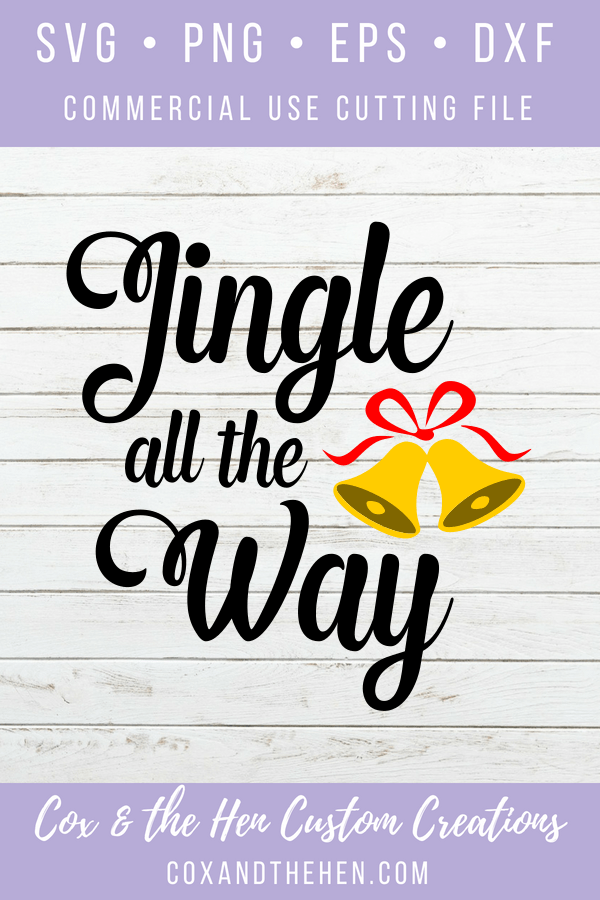 Jingle all the way - christmas decoration - christmas svg - merry and bright - wood sign stencil - stencil wood sign - christmas decor - christmas cut file - christmas sign - jingle bells svg