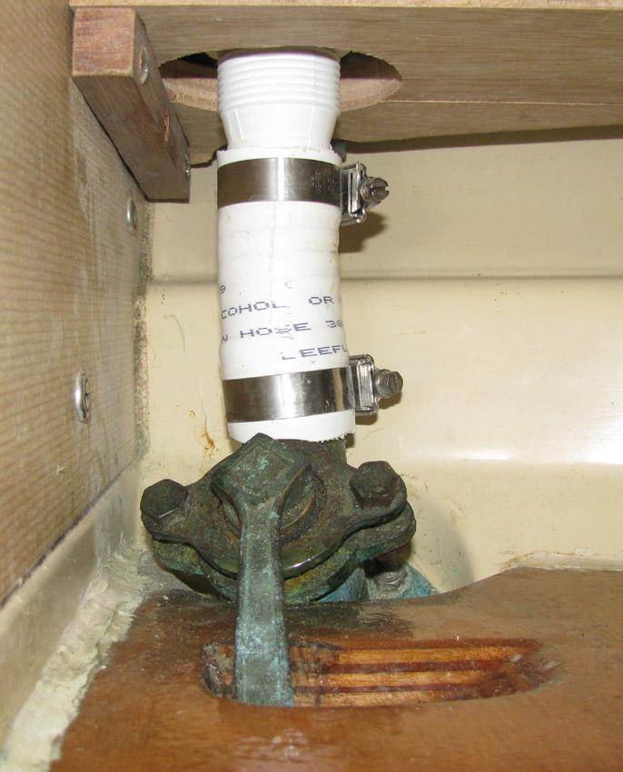 Outlet hose