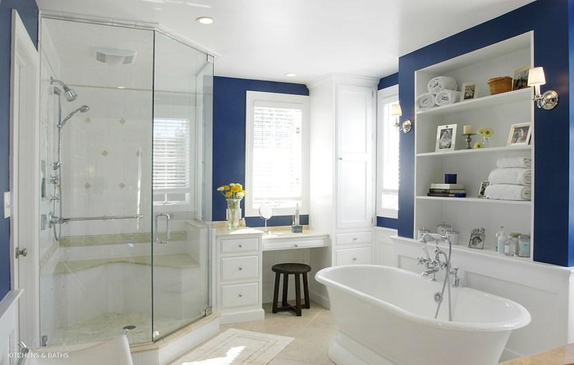 Pristine bathroom remodel