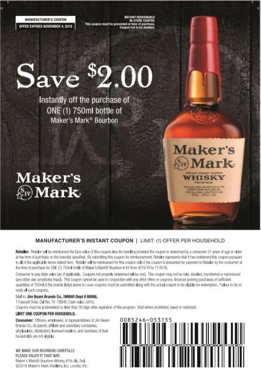 Maker's Coupon