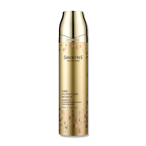 Shangpree Gold Solution Care Emulsion 120ml - CoyCooing