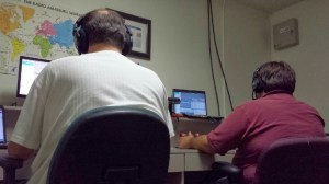 KF5EJX and K5WW at CQ WPX SSB 2014