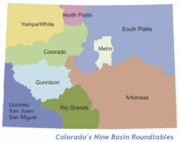 Basin roundtable boundaries