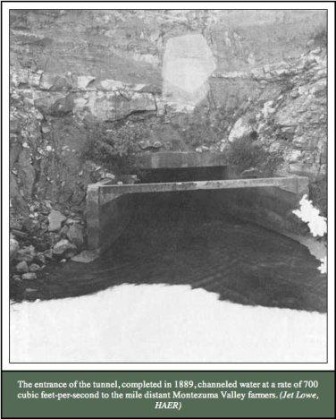 Montezuma Tunnel entrance.
